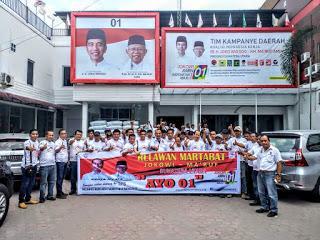 Relawan Martabat Siap Mengawal Pemilu 2019 Bebas Money Politik