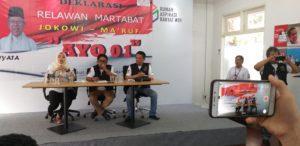 Relawan Martabat Jokowi-Amin Ajak Anggota Kampanyekan Pemilu Damai